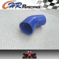 Wholesale silicone hose reducer for sale - Group buy 2 quot gt quot Silicone hose degree Elbow Reducer mm gt mm BLUE