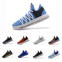 Wholesale kd low basketball shoes for sale - Group buy 2019 Zoom KD Anniversary PE BHM Red Oreo triple black Men Basketball Shoes Elite Low Kevin Durant Athletic Sport Sneakers