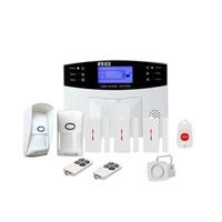 Wholesale gsm home security alarm systems for sale - Group buy Gsm Wireless Home Burglar Alarm System SOS Motion Door Window Sensor Security AU Plug car