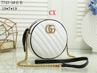 Wholesale circular beads for sale - Group buy HOT High quality new fashion women wallet GY607743 knapsack high quality shoulderbags men and womeng eneral Satchel