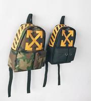 Wholesale mens outdoor shoulder bags resale online - Designer Shoulder Bags Unisex Off Backpack Mens Designer Outdoor Duffle Mens Sports White Backpack Men Women Outdoor Sport bags