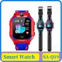 Q19 SOS Camera Smart Watch Baby LBS Position Lacation Tracker Smart Kids Watch Voice Chat Flashlight children VS Q100