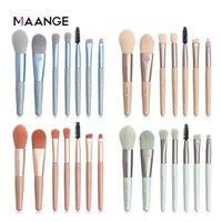 Wholesale maange makeup resale online - MAANGE Makeup Brushes Kit Nylon Eye Makeup Brush Smokey Makeup Eye Shadow Brush Set