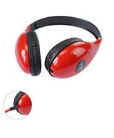 bandas de música al por mayor-DM-4700 Auriculares con cable Gaming Music Headset para PC Ordenador portátil 3.5mm Jack plegable ajustable auriculares auriculares diadema deportiva