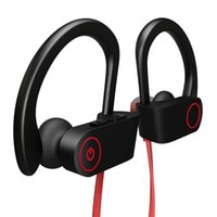 ingrosso bassi del auricolare del bluetooth-Cuffia Bluetooth impermeabile cuffia wireless auricolare sport basso orecchio baccello auricolare bluetooth per iPhone X MAX xiaomi