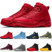 Wholesale taxi black box for sale - Group buy With Box High Quality s Winterized WNTR Red Mens Basketball Shoes The Master Flu Game Taxi men sport Sneakers designer trainers