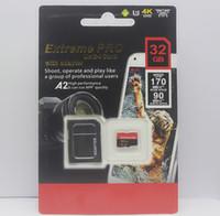 telefon sd karten großhandel-Hot A2 Android Phone 32 GB 64 GB 128 GB Klasse 10 Micro SD-Karte Micro 256 GB Micro TF-Karte