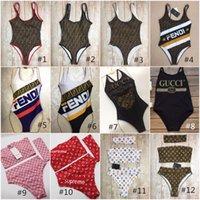 terno feminino de três peças venda por atacado-Misture 72 estilos de moda Swimwear biquíni para mulheres menina Swimsuit com Pad atadura de duas peças de três peças sexy maiô