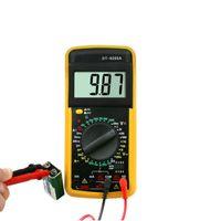 mètres ac achat en gros de-Compteur multimètre numérique AC DC Tension Résistance Testeur de courant durable pour Électricien Réparation MJJ88