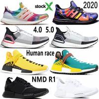 Ultra Boost 2020 Nizza Kicks Woodstock Regenzeit Ultraboost 19 20 MensRunning Schuhe Human Race NMD R1 Gelb Pharrell Williams Hu Trainer