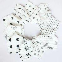 Heiß 1 Stück Säugling Kinder Baumwolle Solide Baby Lätzchen /& Rülpsen Tücher