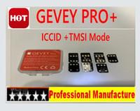 x sim iphone unlock venda por atacado-2019 Gevey pro + ICCID + Modo TMSI desbloqueio universal para iPhone Xs xr max XS / 8/7/6 4G iOS 12.4.1 chips turbo sim IOS 12.X ATT T-mobile Sprint