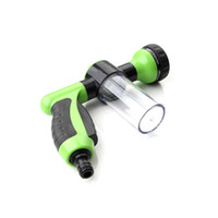 Wholesale high quality garden hoses resale online - Car Washer High Quality Foam Sprayer Garden Hose Nozzle Sprayer With Modes for Car Pet Plants Pressure Washer Universal Hot