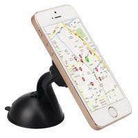 Wholesale dashboard kit resale online - Universal Magnetic Car Dashboard Mobile Mount for Telephone Car Stand Phone Holder Sticky Kit Magnet For GPS Holder Bracket
