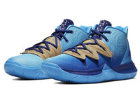 Wholesale best priced basketball shoes for sale - Group buy New Kyrie V Collaboration blue for sales With Box best Irving Basketball shoes store prices size40