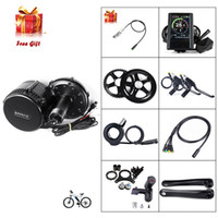 elektro-bike-conversions-kits groihandel-2019 Neue Version Bafang BBS BBS02B 48V 750W Mid Drive Motor Elektro-Fahrrad-Motor Umbausatz mit eBike USB Programmierkabel
