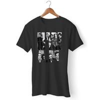 создание футболки оптовых-Сделано в AM One Direction 1D Collage 1 мужская и женская футболка Harajuku Summer 2018 Tshirt Classic Quality High t-shirt