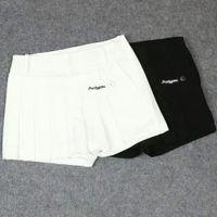 roupas bonitas preto venda por atacado-Senhoras Pearly Gates Shorts De Golfe Esportes Ao Ar Livre de Algodão Elástico Anti-esvaziado Roupas Para Mulheres Bonitas Preto / Cor Branca