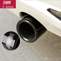 Wholesale 3d pipes resale online - Car Styling Rear Exhaust Pipe Cover Trim Frame For BMW Series X1 GT F20 F22 F30 F32 F34 F10 F48 G30 G11 Auto Accessories