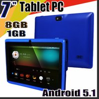 Wholesale 7inch allwinner tablet pc for sale - Group buy 168 Allwinner A33 Quad Core Q88 Q8 Tablet PC Dual Camera quot Inch capacitive screen Android GB GB Wifi Google play store flash C PB