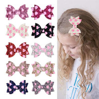 Wholesale baby girl sequin hair accessories for sale - Group buy Baby Girls Love Heart Glitter Hairpins Kids Sequin Love Bowknot Hair Clip Hairpins Princess Barrettes Headwear Hair Accessories Gifts A41003
