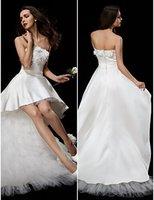 impressão nu 3d venda por atacado-Vestidos de noiva saia curta impressão vestidos de noiva faixa 3D-Floral Saias apliques saias robes de soirée de mariée