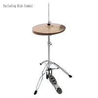 Wholesale professional drum kits resale online - Professional Drum Kit with Adjustable Hi hat Stand for Beginners and Professional Drummers Can Be Used for Practice and Stage Performances