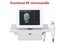 Design handle with 4 tips Fractional RF Microneedle Machine facial care body slimming stretch marks removal DHL