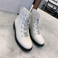 Wholesale mixed girl leather shoes resale online - Ankle boots classical women designer motorcycle boots high quality genuine leather girls winter shoes Sies c3