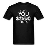 ingrosso strane camicie-Ti amo 3000 volte Marvel Endgame stampato magliette Dottor Strange Man Captain America Superhero maglietta degli uomini di formato XS-3XL
