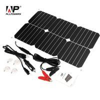 солнечный искатель оптовых-аккумулятор Сопровождающий ALLPOWERS Solar пакет 12V солнечной Автомобильное зарядное устройство Сопровождающий зарядки для мотоцикла автомобиля лодка Fish Finder
