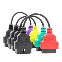 Wholesale obd2 scanner sale for sale - Group buy Hot sale for Fiat ECUScan Adapter OBD OBD2 Connector MultiECUScan ABS Airbag obd2 scanner Diagnostic cable for Fiat ECU Scan tool