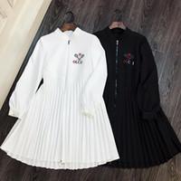 best service 359fb 3f887 Kaufen Sie im Großhandel Schwarzes Weißes Kleid 2019 zum ...
