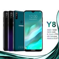 doogee android telefones venda por atacado-DOOGEE Y8 Android 9.0 Smartphone 6.1