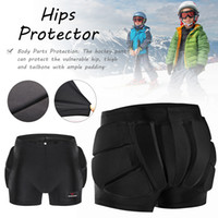 Wholesale padding for hip for sale - Group buy Freeshipping S M L Outdoor Sports Ski Skate Snowboard Protection Skiing Protector Skating Protective Hip Padded Shorts For Kids
