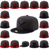 yankee weiß großhandel-Herren Red Sox Indianer Astros Yankees Engel White Sox Junge Dodgers Graphite / Navy 2019 All-Star Workout On-Field 59FIFTY Fitted Hat