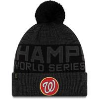 Wholesale free lockers for sale - Group buy New Men s Washington Nationals Black World Series Champions Locker Room Knit Hat Sports winter caps Beanie Skullies Snapbacks Hats