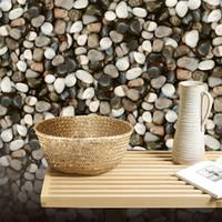 ingrosso pietre di plastica decorativa-Rifornimento della fabbrica di alta qualità 3d pietra carta da parati 3d carta da parati in pvc impermeabile decorativo plastica carta da parati 3d pietra mattoni muro di carta