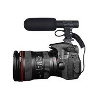 Wholesale camera sound microphone for sale - Microphone SLR DSLR Camera Microphone Flexible mm Digital Talk Video Recording Interview Hifi HD Sound Mini Mic