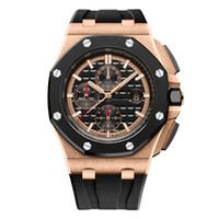 pin meter al por mayor-2018 nuevo reloj para hombre popular para hombre reloj automático de lujo mecánico automático reloj de 45 mm para hombre de negocios impermeable 30 metros