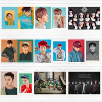 Wholesale painting zhang for sale - Group buy Zhang Yixing Exo Korea Music Band Canvas Painting Vintage Wall Kraft Posters Coated Stickers Home Decor Picture for Living Room