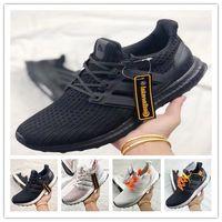 las mejores marcas de zapatos de mujer de senderismo al por mayor-Zapatillas de running ultra boost top Zapatillas de diseñador de la marca Deportes al aire libre zapatillas de punto para hombre blanco negro Zapatillas de tenis para mujer zapatillas de deporte para correr senderismo
