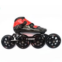 rodillo de marco al por mayor-120mm * 4 ruedas patines en línea patines de patines en línea para niños adultos con patín de velocidad de cuadro de 120 mm Patins Roller Skate