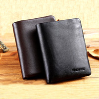 Wholesale Fashion Men s Leather Trifold Wallet Money Credit Card Holder Zip Coin Purse