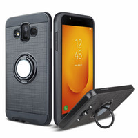 Wholesale galaxy light phone cases resale online - Car Mount Holder Magnetic Hybrid Phone Ring Case for Samsung Galaxy J3 J5 J7 J330 J530 J730 Pro J520 S8 Plus Shockproof Cover