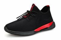 sapatas running do estilo coreano venda por atacado-Ginásio Explosivo Primavera Nova Edição Coreano dos homens Na Moda Esportes Estilo Único Sapatos Estudante Tênis de Corrida Respirável Sapatos Masculinos