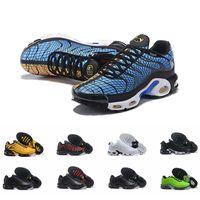 sapatos de esporte de tamanho mais venda por atacado-2019 Designer Plus Tn Se Sapatos de Corrida Greedy Mens Sapatilhas Sapatilhas Tns Ultra Respirável Zapatillas de Esportes Tamanho Schuhe 40-46