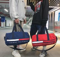 Wholesale travel bags sets for sale - Group buy Designer Duffel bags Unisex Outdoor Sport travel bags Quality durable Oxford Dry wet Isolation set cm wide