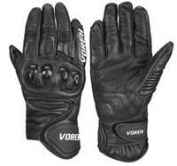 Wholesale professional motorcycle gloves for sale - Group buy Voerh motorcycle riding gloves anti drop locomotive breathable professional off road racing locomotive four seasons universal male