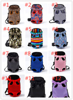 Wholesale dogs cats for free online - Portable Pet Carrier Cat And Dog Backpack Outdoor travel Canvas Bag Tote Bag For Cat Puppy Pet Supplies Free Ship